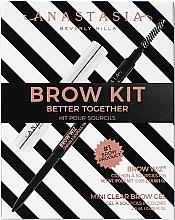 Perfumería y cosmética Cofre maquillaje cejas - Anastasia Beverly Hills Better Together Brow Kit Soft Brown (lápiz/0.08g + gel/2.5g)