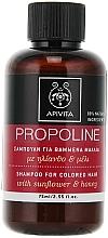 Perfumería y cosmética Champú protector del color con girasol & miel - Apivita Propoline Shampoo For Colored Hair