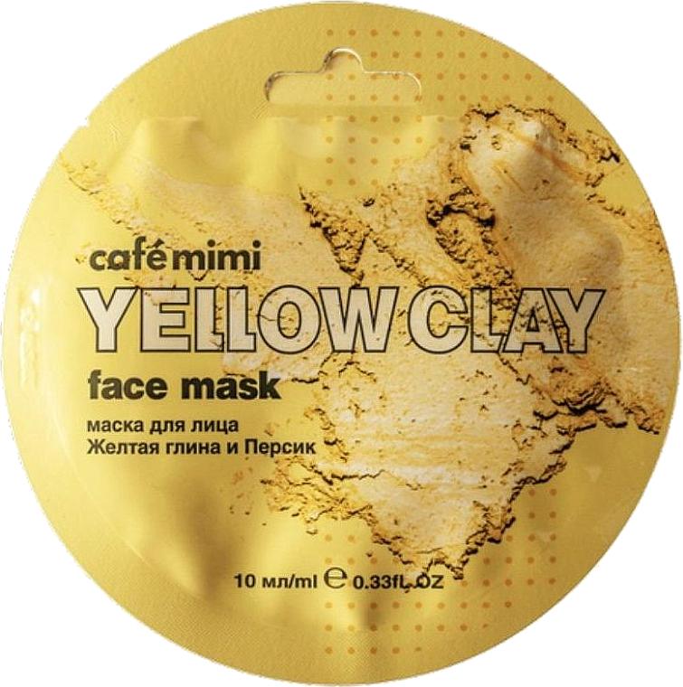 Mascarilla facial con arcilla amarilla - Cafe Mimi Face Mask