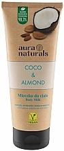 Perfumería y cosmética Leche corporal, coco y almendra - Aura Naturals Coco & Almond Body Milk