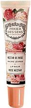 Perfumería y cosmética Bálsamo labial con karité, aroma a rosas y violetas - Panier des Sens Lip Balm Shea Butter Rose Nectar