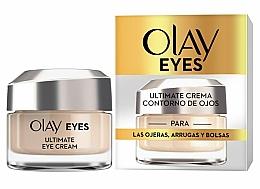 Perfumería y cosmética Crema contorno de ojos con péptidos y vitaminas - Olay Eyes Ultimate Eye Contour Cream