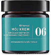 Perfumería y cosmética Crema facial con aceite de macadamia y agua de rosas - Fitomed Cream With Wheat Germ Oil Nr6
