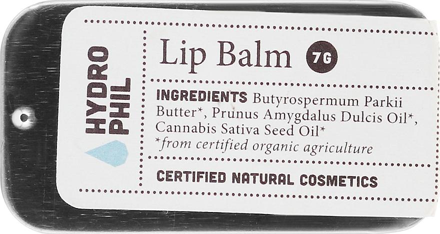 Bálsamo labial natural vegano con manteca de karité y almendra dulce - Hydrophil Lip Balm
