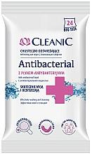 Perfumería y cosmética Toallitas antibacterianas, 24 uds. - Cleanic Antibacterial Wipes
