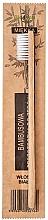 Perfumería y cosmética Cepillo dental suave con madera de bambú, blanco - Bio4You