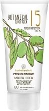 Perfumería y cosmética Loción protectora solar con pigmentos de origen mineral - Australian Gold Botanical Sunscreen Premium Coverage Mineral Lotion SPF 15