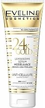 Perfumería y cosmética Sérum corporal anticelulítico con partículas de oro - Eveline Cosmetics Slim Therapy 24kGold