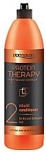 Perfumería y cosmética Acondicionador reparador con complejo de queratina - Prosalon Protein Therapy + Keratin Complex Rebuild Conditioner