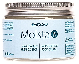 Perfumería y cosmética Crema hidratante para pies con urea - MiaCalnea Moisturizing Foot Cream