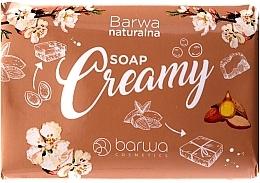 Perfumería y cosmética Jabón corporal con aceite de almendras y extracto de rosa - Barwa Natural