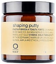 Perfumería y cosmética Cera texturizante de cabello con extracto de vainilla, fijación fuerte - Rolland Oway Shaping putty