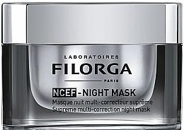 Perfumería y cosmética Mascarilla de noche correctora con extracto de árbol de seda y aceite de almendras - Filorga NCEF-Night Mask