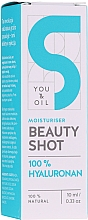 Perfumería y cosmética Sérum facial hidratante con ácido hialurónico y agua de romero - You and Oil Beauty Shot Hyaluronic Acid