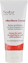 Perfumería y cosmética Crema para quemaduras con aceite de jojoba - Sostar After Burn Cream