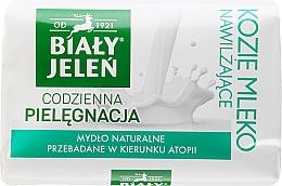 Perfumería y cosmética Jabón hipoalergénico con extracto de leche de cabra - Bialy Jelen Hypoallergenic Soap With Goat Milk