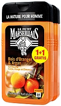 Perfumería y cosmética Set gel de ducha - Le Petit Marseillais Orange Tree and Argan Shampoo Shower Gel (gel de ducha/2x250ml)