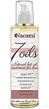 Perfumería y cosmética Mascarilla capilar con 7 aceites - Nacomi 7 Oils Natural Hair Mask