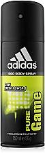 Perfumería y cosmética Adidas Pure Game - Desodorante en spray