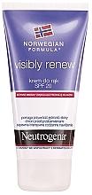 Perfumería y cosmética Crema de manos restauradora de la elasticidad de la piel SPF 20 - Neutrogena Visibly Renew Hand Cream