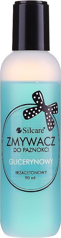 Quitaesmalte de uñas con glicerina sin acetona - Silcare Acetone-Free Nail Polish Remover