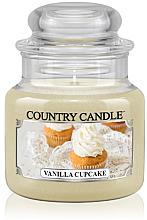 Perfumería y cosmética Vela en tarro con aroma a vainilla - Country Candle Vanilla Cupcake