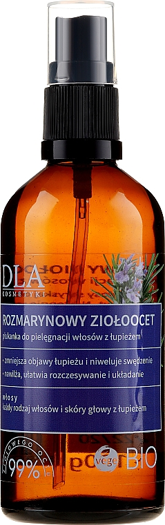 Spray capilar natural con extracto de romero - DLA