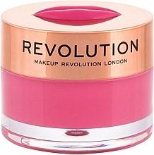 Perfumería y cosmética Bálsamo mascarilla labial de noche con sabor a sandía - Makeup Revolution Kiss Lip Balm Watermelon Heaven