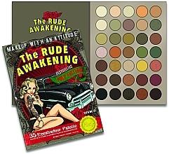 Perfumería y cosmética Paleta de sombras de ojos, 35 colores - Rude The Rude Awakening