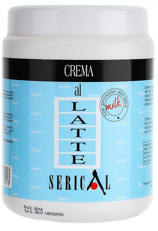 Mascarilla crema capilar con proteínas de leche - Pettenon Serical