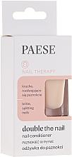 Perfumería y cosmética Tratamiento protector para uñas con vitamina E y aceite de argán - Paese Dauble the Nail