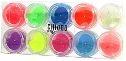Perfumería y cosmética Set polvos fluorescentes para uñas - Chiodo Pro Puder