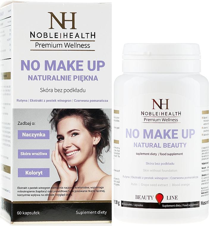 Complemento alimenticio en cápsulas para una piel sana, 60 cáp. - Noble Health No Make Up