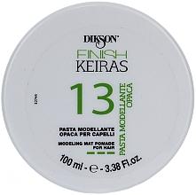Perfumería y cosmética Pasta moldeadora para cabello de fijación fuerte y efecto mate - Dikson Finish Keiras Pasta Modellante Opaca 13