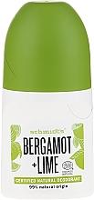 Perfumería y cosmética Desodorante antitranspirante roll-on con bergamota & lima - Schmidt's Bergamot + Lime Deo Roll-On