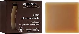 Perfumería y cosmética Jabón natural con aciete de neem - Apeiron Neem Plant Oil Soap