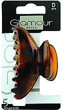 Perfumería y cosmética Pinza de pelo, 0216, marrón - Glamour
