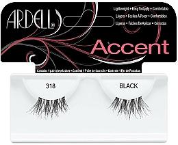 Perfumería y cosmética Pestañas postizas de esquina - Ardell Lash Accents Black 318