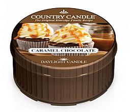 Perfumería y cosmética Vela de té con aroma a caramelo y chocolate - Kringle Candle Caramel Chocolate