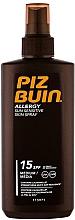 Perfumería y cosmética Spray fotoprotector solar hidratante para piel sensible - Piz Buin Allergy Spray Spf15