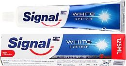 Perfumería y cosmética Pasta de dientes blanqueadora  - Signal White System Toothpaste