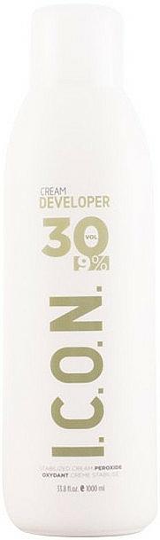 Crema activadora profesional, 30 Vol (9%) - I.C.O.N. Ecotech Color Cream Developer 30 Vol (9%) — imagen N1
