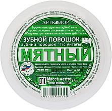 Perfumería y cosmética Polvo dental con sabor a menta - Artcolor