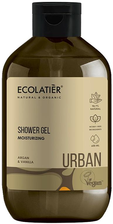 Gel de ducha natural con aceite de argán y extracto de vainilla - Ecolatier Urban Shower Gel