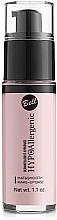 Perfumería y cosmética Prebase de maquillaje hipoalergénica - Bell Hypo Allergenic Mat&Smooth Make-Up Base