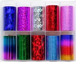Perfumería y cosmética Láminas de transferencia para decoración de uñas - Deni Carte MIX 3