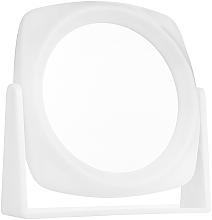 Perfumería y cosmética Espejo cosmético de doble cara, blanco - Titania