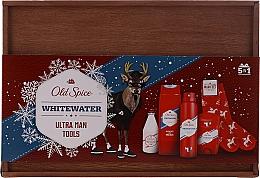 Perfumería y cosmética Set (deo/50g+ gel de ducha/250ml+ loción aftershave/100ml+ deo/spray/150ml) - Old Spice Whitewater Wooden