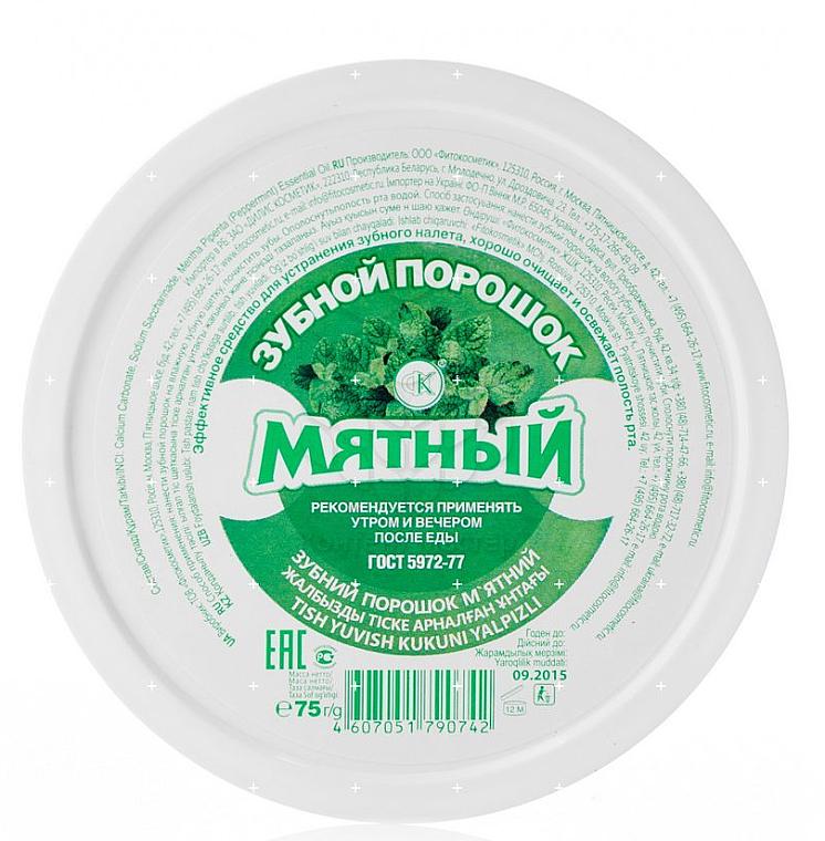 Polvo dental refrescante con menta - Fito Cosmetic