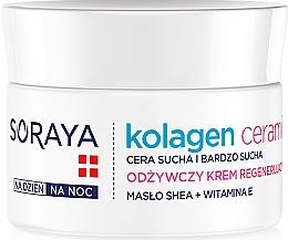 Perfumería y cosmética Crema nutritiva con manteca de karité y vitamina E - Soraya Kolagen i Ceramid Nourishing Cream